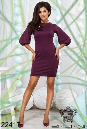 Платье с рукавом колокольчик - 22417