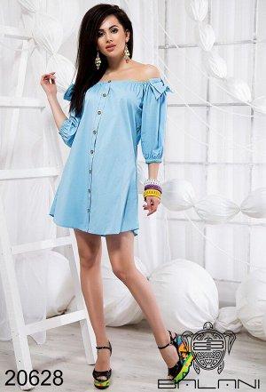 Летнее свободное платье - 20628