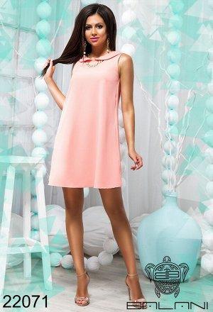 Платье свободного кроя - 22071