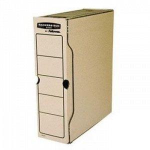 "Переносной короб архивный 100х260х325 мм гофрокартон Bankers Box ""Basic"" FS-00102 Fellowes {Россия}"