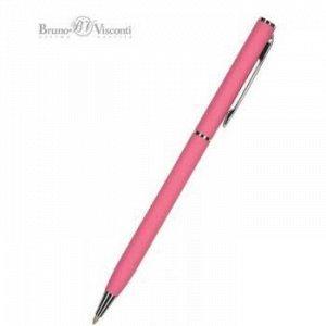 """Ручка автоматическая шариковая 0.7мм """"PALERMO"""" синяя, (коралловый металлический корпус) 20-0250/12 Bruno Visconti {Китай}"""