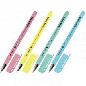 "Ручка шариковая масляная 0.5мм ""LOREX PASTEL"" синяя (4 цвета корпуса) LXOPSS-PS1 LOREX {Китай}"