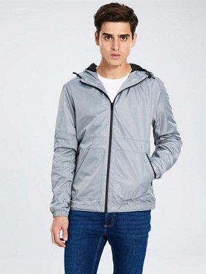 КУРТКА Фасон: Стандартный Длина: Короткий Толщина: Тонкий Тип товара: Куртки РАЗМЕР: 2XL, L, S, XL; ЦВЕТ: Green, Grey СОСТАВ: Основной материал: 100% Полиэстер
