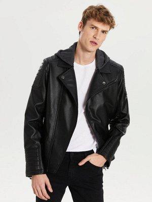 КУРТКА Длина: Короткий Фасон: Стандартный Толщина: Тонкий Тип товара: Куртки РАЗМЕР: L, M, S, XL; ЦВЕТ: Black СОСТАВ: Основной материал: 100% Полиуретан