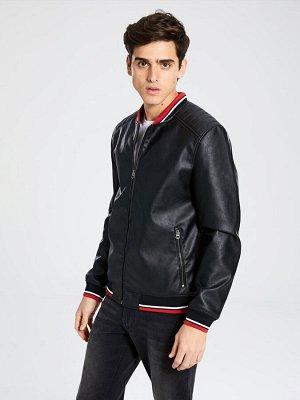 КУРТКА Тип товара: Куртки Фасон: Стандартный Толщина: Средний Длина: Короткий РАЗМЕР: 2XL, L, M, S, XL; ЦВЕТ: Black СОСТАВ: Основной материал: 100% Полиуретан