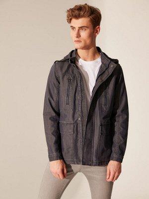 КУРТКА Длина: Короткий Фасон: Стандартный Толщина: Тонкий Тип товара: Куртки РАЗМЕР: L, M, S, XL; ЦВЕТ: Dark Rodeo СОСТАВ: Основной материал: 52% Хлопок 48% Полиэстер