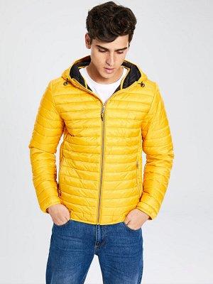 КУРТКА Длина: Короткий Толщина: Средний Фасон: Узкий Тип товара: Куртки РАЗМЕР: L, M, S, XL, XS; ЦВЕТ: Mustard Yellow, Navy СОСТАВ: Основной материал: 100% Полиамид