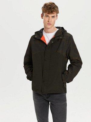 КУРТКА Длина: Короткий Толщина: Тонкий Тип товара: Куртки Фасон: Стандартный РАЗМЕР: 2XL, L, M, S, XL; ЦВЕТ: Khaki Printed СОСТАВ: Основной материал: 100% Полиэстер