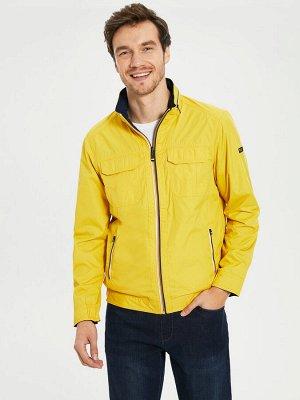 КУРТКА Длина: Короткий Фасон: Стандартный Толщина: Тонкий Тип товара: Куртки РАЗМЕР: 2XL, 3XL, L, M, XL; ЦВЕТ: Mid Yellow СОСТАВ: Основной материал: 100% Полиэстер