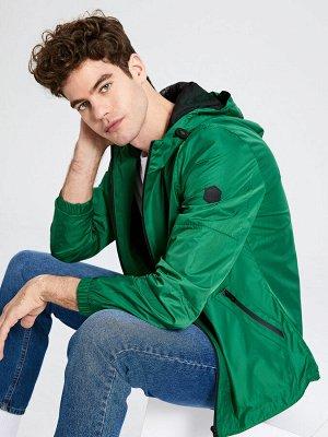 КУРТКА Фасон: Стандартный Длина: Короткий Толщина: Тонкий Тип товара: Куртки РАЗМЕР: 2XL, L, M, XL; ЦВЕТ: Green, Grey СОСТАВ: Основной материал: 100% Полиэстер