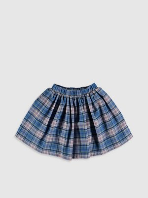 ЮБКА Узор: Шотландка Длина: Выше колена РАЗМЕР: 9-10 лет, 10-11 лет, 11-12 лет, 4-5 лет, 5-6 лет, 6-7 лет, 7-8 лет, 8-9 лет; ЦВЕТ: Blue Checked СОСТАВ: Основной материал: 55% Хлопок 45% Полиэстер