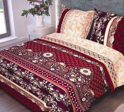 ™ВИКТОРИЯ - постельное белье от 706 руб, текстиль, трикотаж — КПБ Бязь Гост — Спальня и гостиная