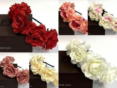 Golden Gala -  аксессуары для волос, бижутерия, галантерея-8 — Заколки и резинки с цветами — Наборы