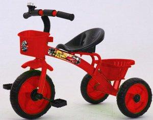 Велосипед 3-х колесный c корзинкой и багажником