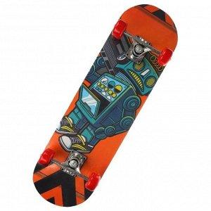 Скейтборд 70*20 см. колеса PVC