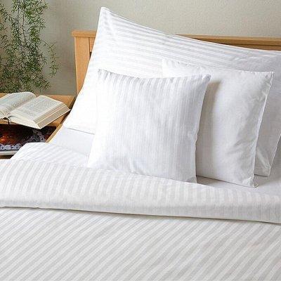 ™ВИКТОРИЯ - постельное белье от 706 руб, текстиль, трикотаж — КПБ Страйп-Сатин — Спальня и гостиная