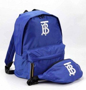 Рюкзак из полиэстра с поясной сумкой