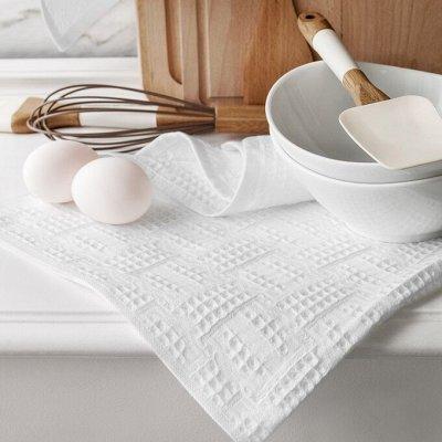 Распродажа новогодних скатертей! От 194 рублей!  — Вафельные кухонные полотенца  — Кухонные полотенца