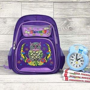 Рюкзак Только вроде бы закончились учиться... а уже пора заново собирать ребенка в школуВремя летитВашему вниманию ЯРКИЕ НАДЕЖНЫЕ школьные портфели Размер 30*40 см. Материал текстиль ? ортопедичес