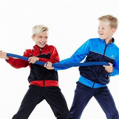 ✔Decathlon - Футболки и брюки понравятся детям — СПОРТИВНЫЕ КОСТЮМЫ — Спорт