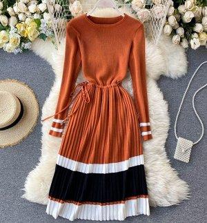 Платье, карамель