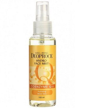 """DEOPROCE Мист д/лица WELL-BEING Hydro Face Mist COENZYME Q10 """"Коэнзим Q10"""", 100мл/дозатор/ №1322"""