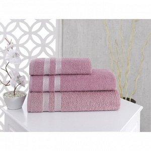 Полотенце Petek, размер 70 х 140 см, цвет розовый