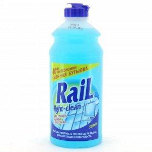 Средство для мытья стёкол и зеркал RAIL