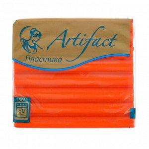 Пластика - полимерная глина 56 г «Цветочная коллекция» красный апельсин