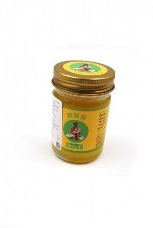 Mho Shee Woke. Тайский желтый бальзам 50гр.