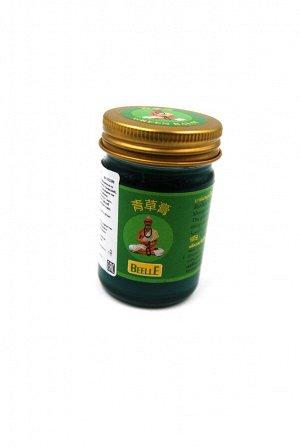 Mho Shee Woke. Тайский зеленый бальзам 50гр.
