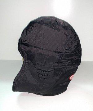 Шапка Черная шапка-ушанка  №1733