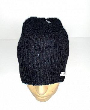 Шапка Двухсторонняя практичная шапка  №1754