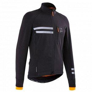 Велосипедная куртка мужская RC500 утеплённая TRIBAN