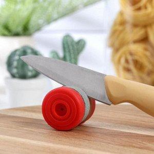 Точилка для ножей двойная «Мини», цвет МИКС