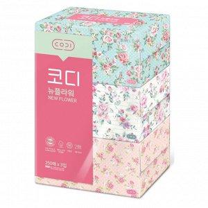 Двухслойные бумажные салфетки мягкие «Розы»