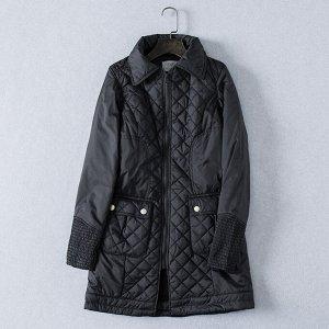 Стеганая куртка с утепленным подкладом