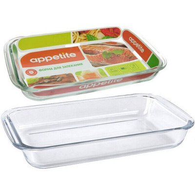 Посуда Appetite. Готовить – значит творить — Appetite-Жаропрочное стекло — Посуда