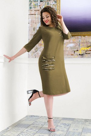 Платье Платье Avanti Erika 948-10  Состав: Вискоза-85%; ПЭ-11%; Эластан-4%; Сезон: Осень-Зима Рост: 164  Удобное платье полуприлегающего силуэта из костюмно-плательной ткани средней плотности, хорошо