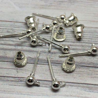 🖌Всё для изготовления бижутерии🖌 — Швензы — основы для сережек — Заготовки и основы