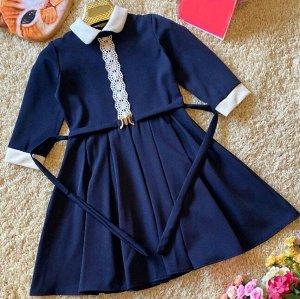 Платье Важно! Для сохранения презентабельного облика одежды необходимо гладить ее с изнаночной стороны. Это поможет избежать образование белесых следов На смену бесформенным невзрачным нарядам школьни