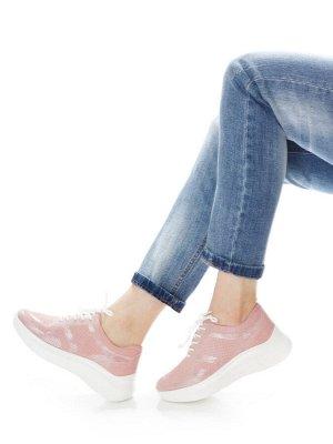Кроссовки Страна производитель: Китай Размер женской обуви x: 36 Вид обуви: Кроссовки Пол: Женский Застежка: Шнуровка Цвет: Розовый Материал верха: Замша Материал подошвы: Резина Материал подкладки: Н