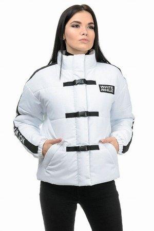 Куртка демисезонная «Каролина», 42-46, арт.281 белый