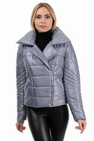 Демисезонная куртка «Глория», р-ры 42-46, №289 серый