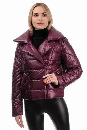 Демисезонная куртка «Глория», р-ры 42-46, №289 сангрия
