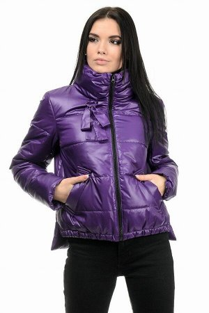 Куртка демисезонная «Джэйн», 42-48, арт.278 фиолет