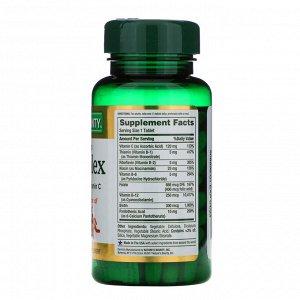 Nature&#x27 - s Bounty, Комплекс витаминов B, Time Released, 125 таблеток в оболочке