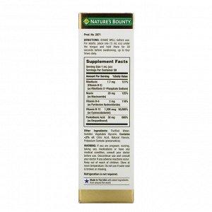 Nature&#x27 - s Bounty, B-Complex, жидкость под язык, 59 мл (2 жидкие унции)