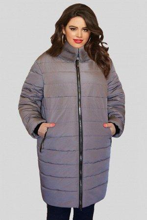 Куртка женская зимняя Натэлла 03 (60-72) серая