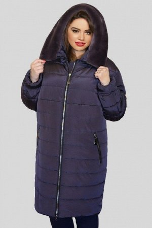 Куртка женская зимняя Натэлла 02 (60-72) фиолет